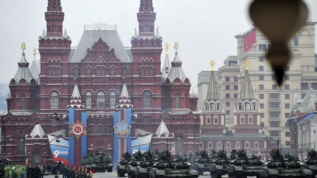Live: Parade in Moskau zum 70. Jahrestag des Sieges gegen Nazi-Deutschland
