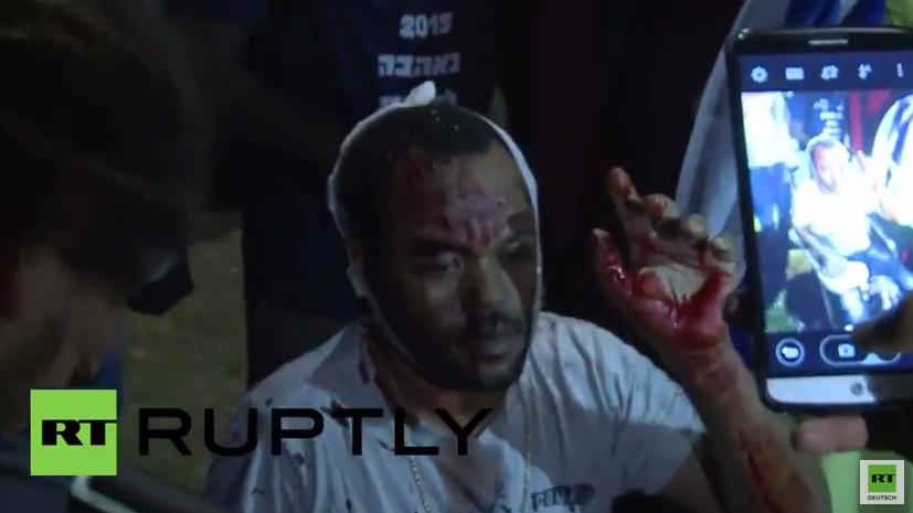 Auch in Israel Proteste gegen Polizeigewalt - Polizei antwortet mit Tränengas