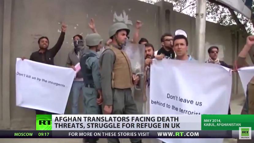 NATO lässt ehemalige afghanische Helfer zurück und überlässt sie den Taliban