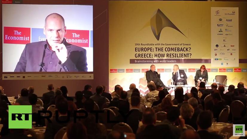 """Varoufakis: """"Ich wünschte, wir wären dieser Währungsunion nie beigetreten."""""""
