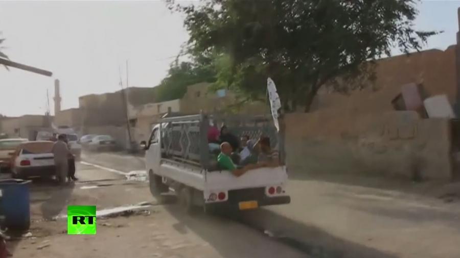 """Irak: """"Islamischer Staat"""" erobert Ramadi - Tausende Zivilisten fliehen"""