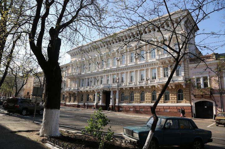 Hauptquartier des SBU in Odessa - Quelle: Anna Schalimowa