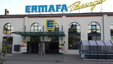 Wegen BILDBOYKOTT künftig ganz ohne Zeitungen und Zeistriften: Der Heymer Edeka - Quelle: facebook