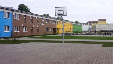 Flüchtlingsheim in der Haarlemer Straße in Neukölln. Foto: Architekt M. J. Zielinski, Berlin, m-j-z.de