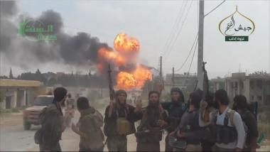 Bildquelle: Screenshot aus einem Propagandavideo der Dschaisch al-Fatah