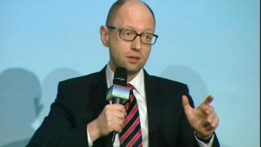 """Premier Jazenjuk: """"Die Ukraine ist die kugelsichere Weste Europas"""""""