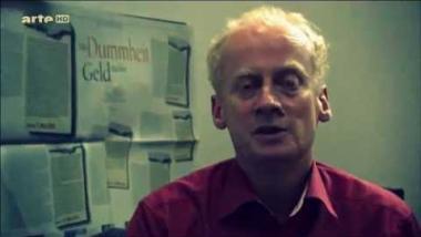 Der Journalist Harald Schumann. Quelle: Screenshot arte