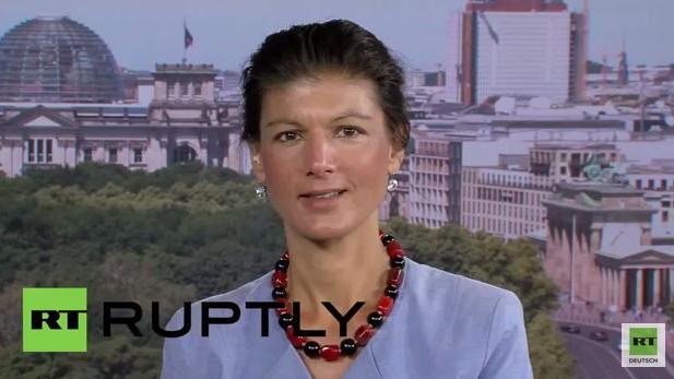 Sahra Wagenknecht zu RT: Russlandsanktionen sind unsinnig und schaden allen