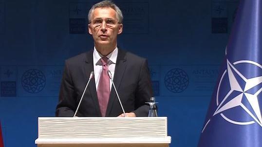 NATO-Generalsekretär Jens Stoltenberg zur Eingreiftruppe und sechs neuen kleineren Hauptquartieren in Osteuropa