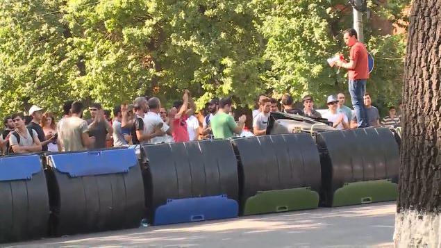 """Live: """"Elektro-Maidan"""" - Proteste in Armeniens Hauptstadt gegen Regierung und Strompreiseerhöhungen"""