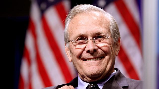 """Altersweisheit? Rumsfeld im Interview: """"US-Demokratieexport in den Irak war ein Fehler"""""""