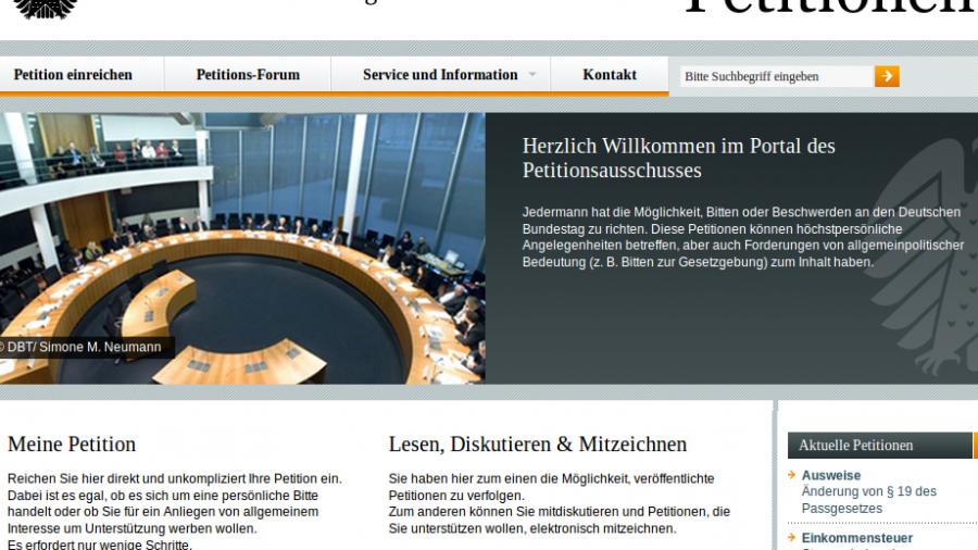 Direkte Demokratie für die Tonne - Petitionsausschuss des Bundestags verwirft 99,82 Prozent der eingereichten Anliegen