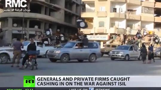 US-Unternehmen machen glänzende Geschäfte mit dem Kampf gegen den IS