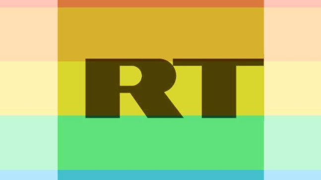 "RT-Logo im ""Celebrate Pride""-Design"