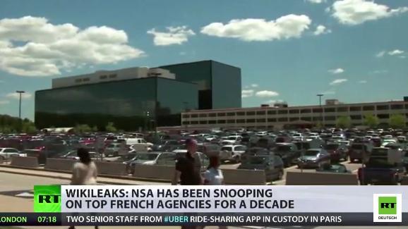 Wikileaks deckt auf: NSA hat alle Bereiche der französischen Wirtschaft ausspioniert
