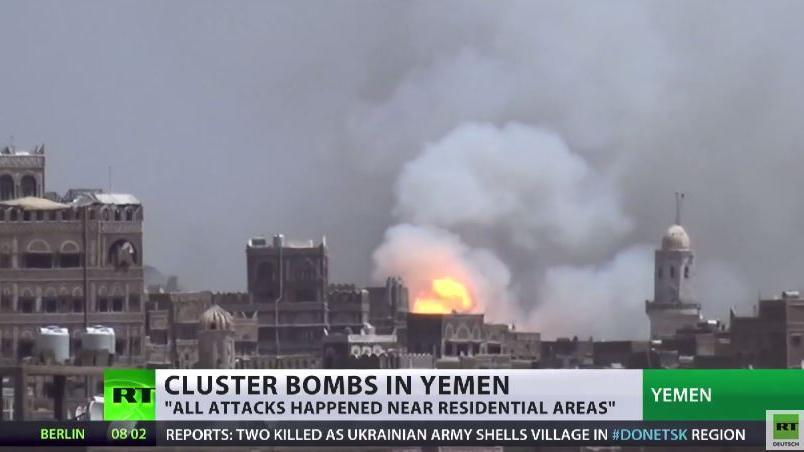 HRW: Weiterhin Einsatz von US-Streubomben durch Saudi-Arabien im Jemen – 98 Prozent zivile Opfer