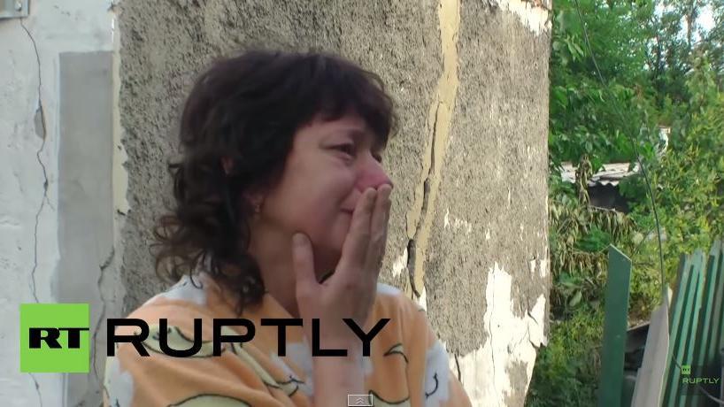Erneuter Artillerieangriff auf Donezk - Eine Tote bei bezieltem Beschuss von 11 zivilen Gebäuden