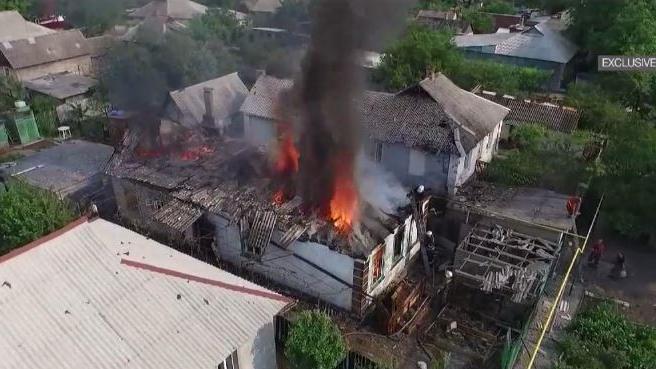 Neue Angriffswelle auf die Region von Donezk: Fünf tote Zivilisten und 30 Verletzte