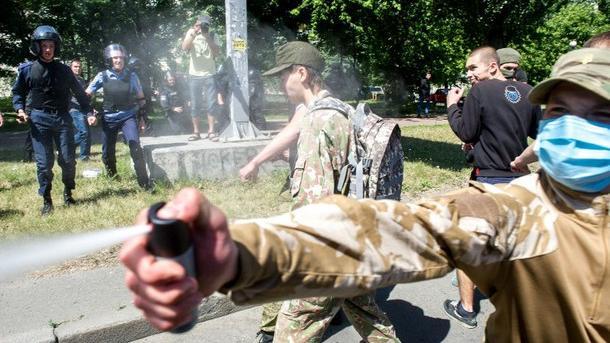 Angriffe des Rechten Sektors auf Schwule und Lesben in Kiew - Russland überrascht von fehlender Reaktion der EU