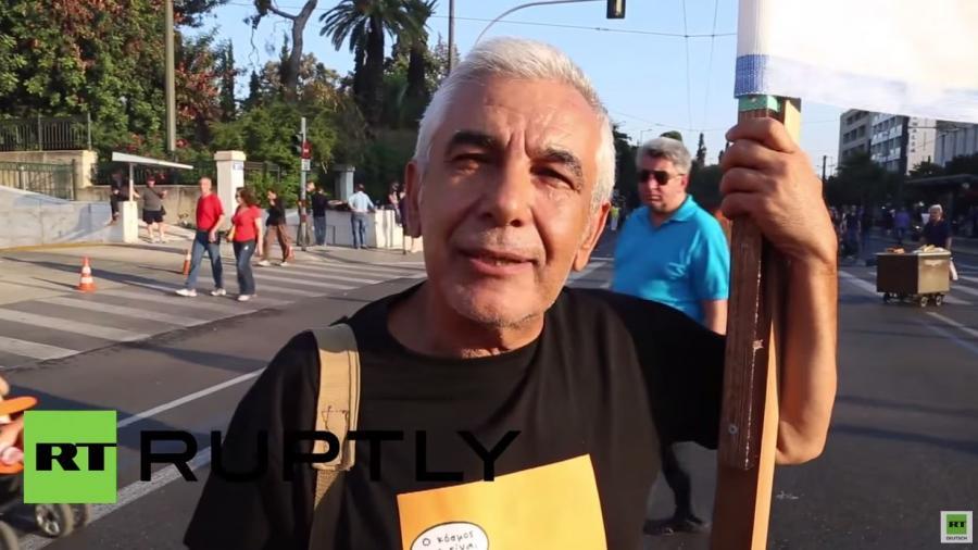 """""""Griechenland wird aufwachen und Nein sagen"""" - RT Ruptly befragt Griechen zum Referendum"""