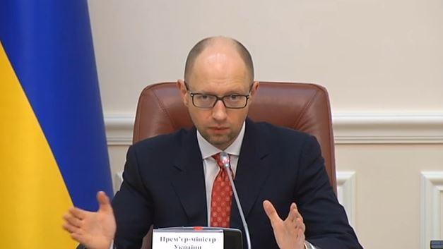 Ukrainischer Premier Jazenjuk fordert Ausschluss Russlands von den Vereinten Nationen
