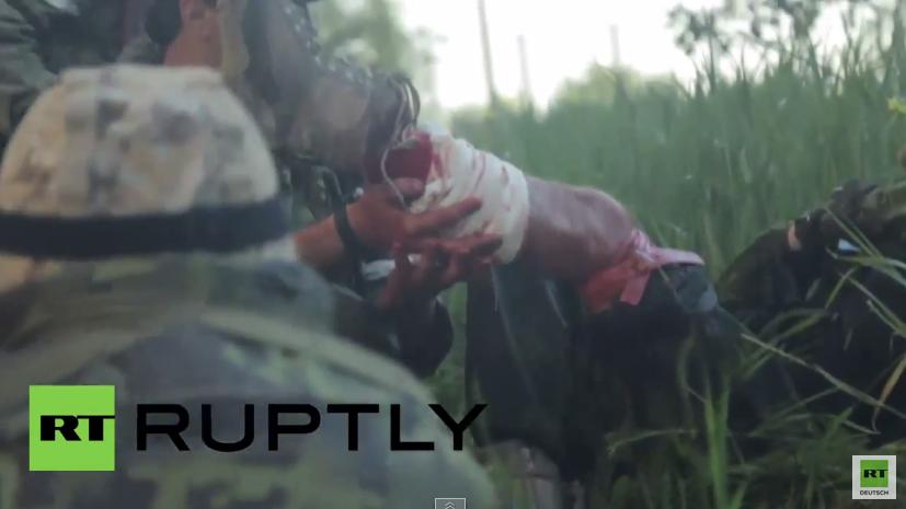 Ukraine: Video zeigt dramatische Kampfszenen in Marinka