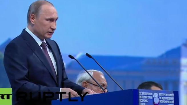 Live: Putin spricht auf internationalem Wirtschaftsforum in Sankt Petersburg