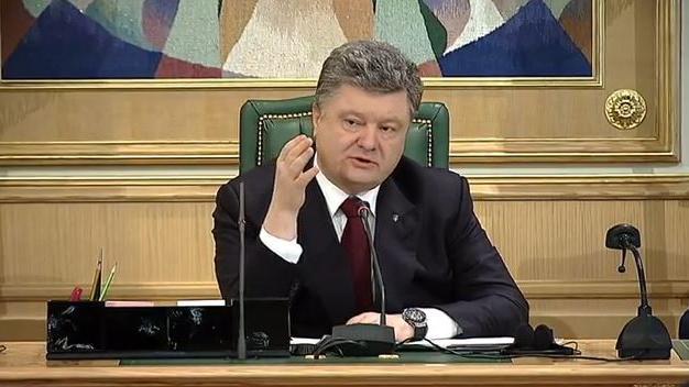 """Erstaunlicher Sinneswandel - Poroschenko nennt erstmals die Absetzung von Janukowitsch """"verfassungswidrig"""""""