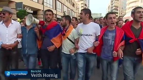 Erneute Programmbeschwerde gegen ARD: Falschinformation zu den Demonstrationen in Jerewan, Armenien