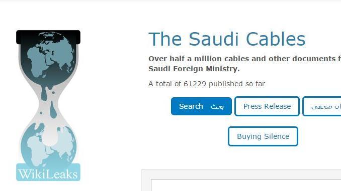 """WikiLeaks: Saudi Arabien nimmt mit """"Schmiergeldern"""" massiv Einfluss auf ausländische Medien in der Region und im Westen"""