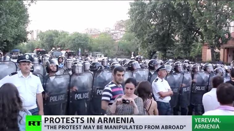 """Elektromaidan"" - Neue Farbrevolution in Armenien?"