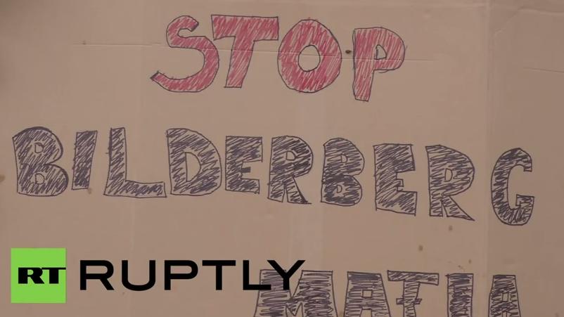 Österreich: Aktivisten demonstrieren gegen die Bilderberg-Konferenz