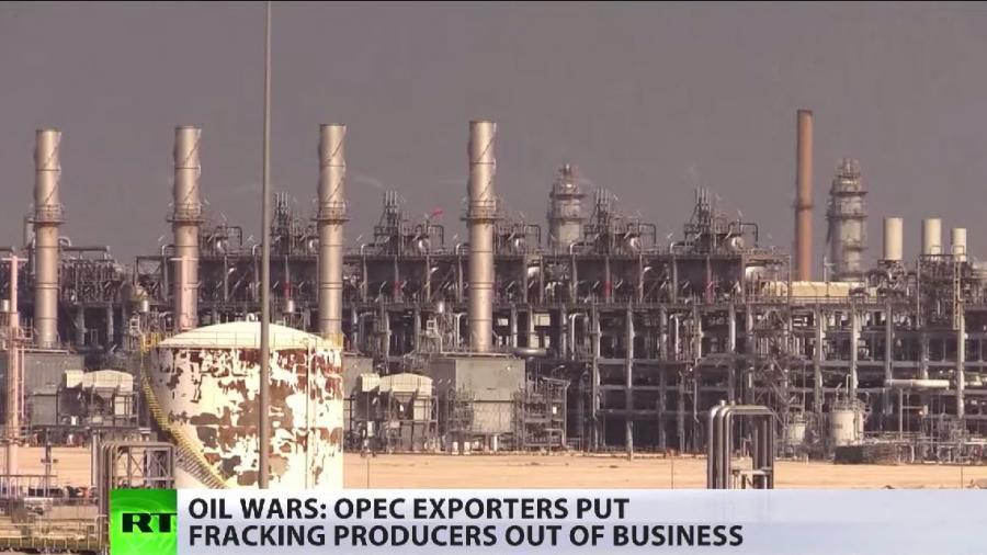 Wer wird gewinnen? Die OPEC im Kartell-Krieg mit US-Frackingunternehmen