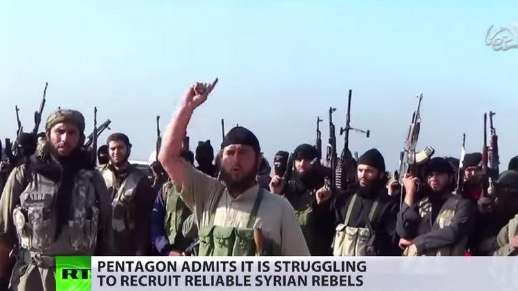 Syrischer Bürgerkrieg: USA finden keine geeigneten Kämpfer für ihr Ausbildungsprogramm