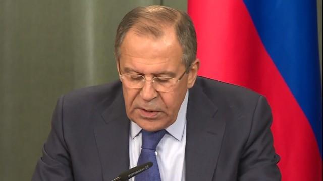 Live: Syrischer Außenminister Muallim und Lawrow geben gemeinsame Pressekonferenz – Englisch
