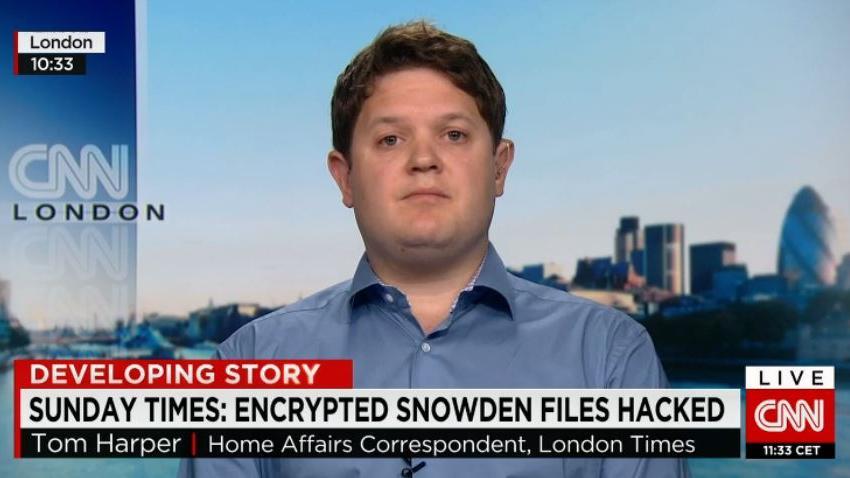 """Sunday Times Autor der """"Snowden-Entschlüsselung"""" im Interview: Ich habe keine Beweise für meine Behauptungen"""