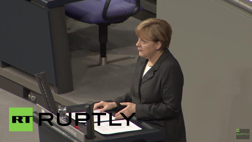 Live: Bundeskanzlerin Merkel gibt Regierungserklärung