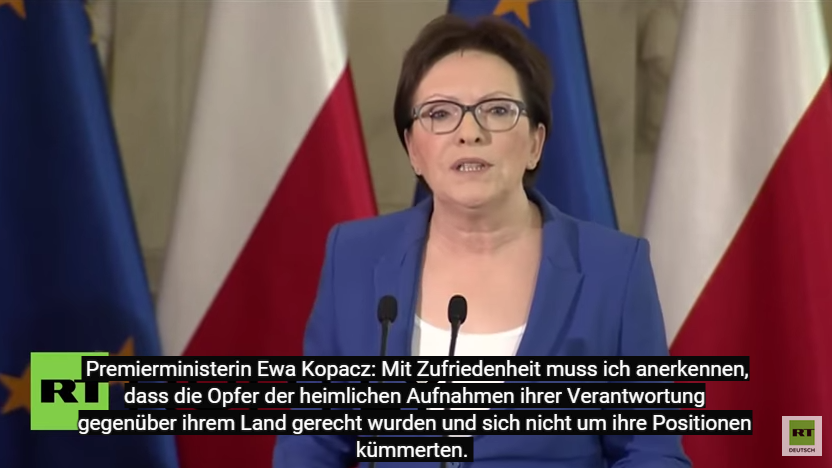Schwere Regierungskrise in Polen - Premierministerin verkündet Rücktritt von 4 Ministern wegen Abhörskandal