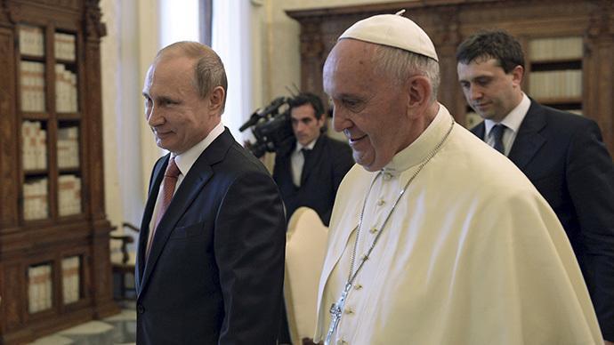 """""""Härtere Position gegen Russland beziehen"""" - USA belehren Papst wie er mit Putin umzugehen habe"""