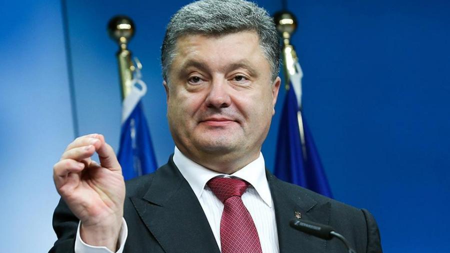 """Ukrainischer Präsident Poroschenko kündigt für diese Woche seinen """"Besuch"""" in Donezk an"""
