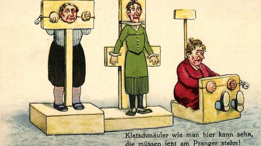 Digitales Mittelalter oder Zeitalter der Aufklärung? Die Methode des Prangers ist nicht neu. Foto Quelle: wissen-fragen-blog.de