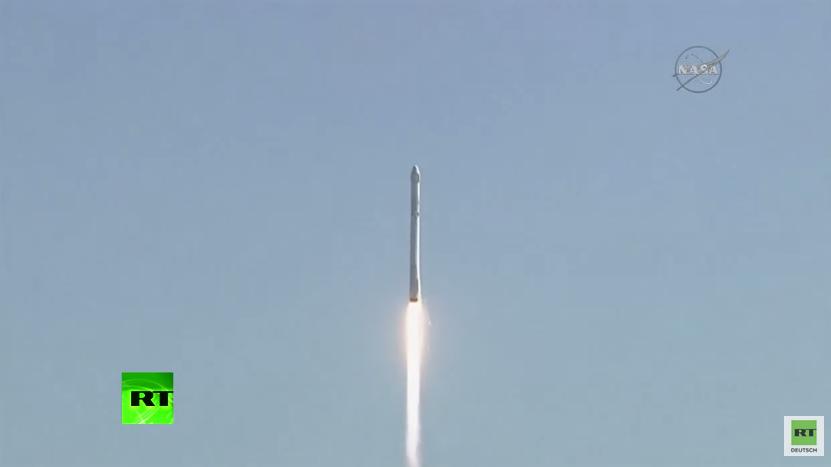 Trägerrakete auf dem Weg zur ISS explodiert