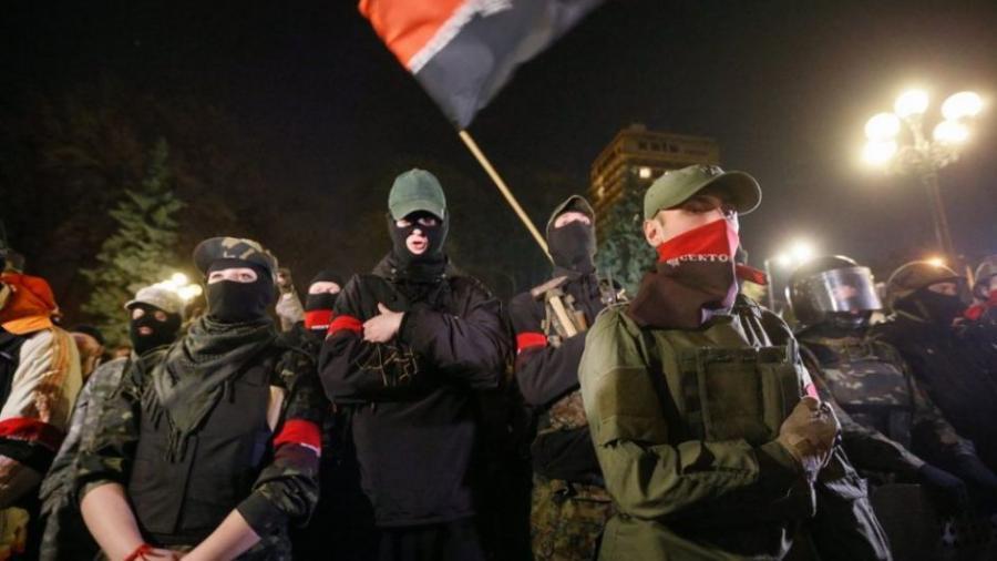 """Rechter Sektor verlangt Verbot der """"Gay Pride Parade"""" in Kiew und droht mit Asow-Bataillon"""