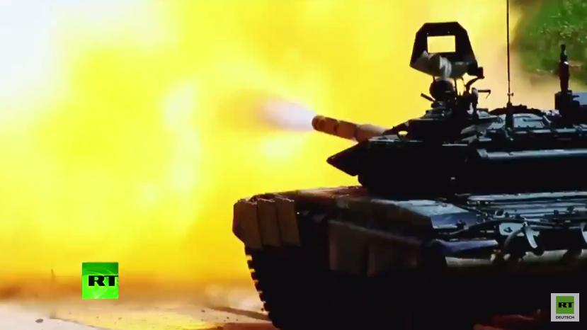 """Russland präsentiert seine militärischen Fähigkeiten auf Militär-Messe """"Army 2015"""""""
