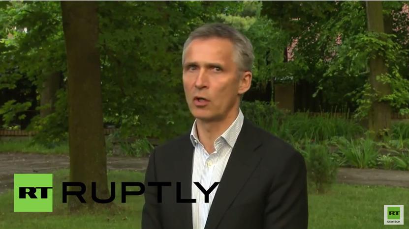 """Stoltenberg: """"Die NATO will eine kooperative und konstruktive Beziehung mit Russland"""""""