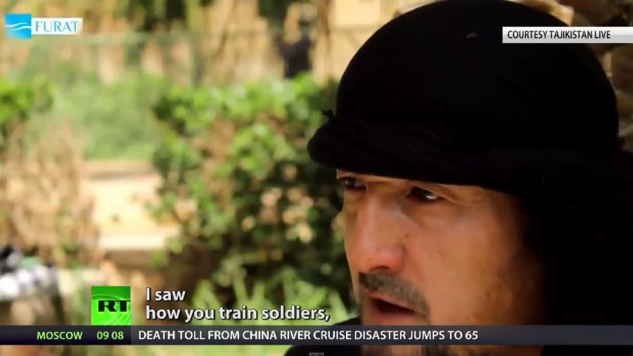 Erst von den USA ausgebildet, nun beim IS - Tadschikischer Kommandeur schwört Dschihadisten Treueeid
