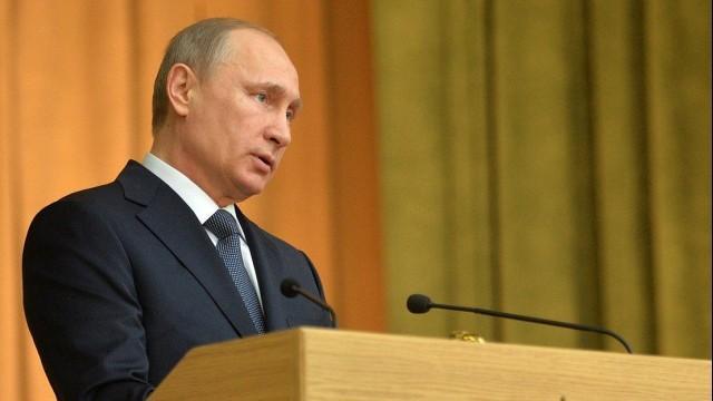 """Live: Putin spricht auf militärtechnischem Forum """"ARMY 2015"""" [russische Fassung]"""