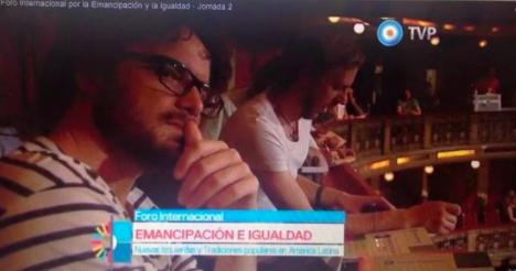 Auch RT Deutsch Redakteur Florian Warweg nahm in Buenos Aires an dem Forum teil.