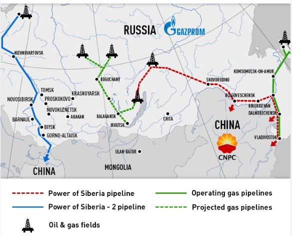 """Strategische Energiepartnerschaft"" - China baut Mega-Pipeline nach Russland"