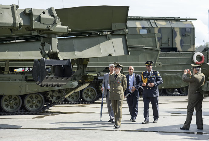 """Internationale Militärmesse """"Army 2015"""" gibt Überblick über die Bandbreite russischer Militärtechnik"""